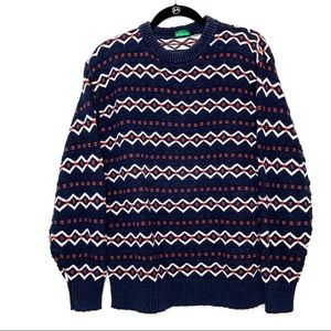 Abercrombie & Fitch Vintage Knit Cotton Sweater